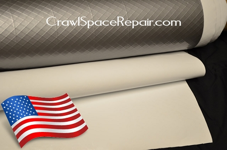 12 mil vapor barrier for crawl space encapsulation for American crawlspace reviews