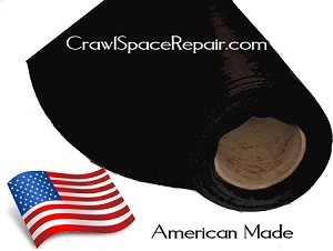 Protection for crawl space plastic for American crawlspace reviews