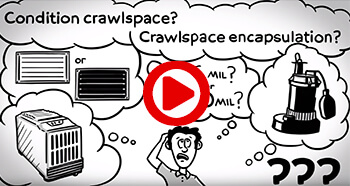 Crawl Space Encapsulation Information on YouTube from Crawl Space Repair