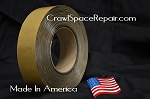 Foundation Seal Tape™ for Crawl Spaces- Made in the USA!