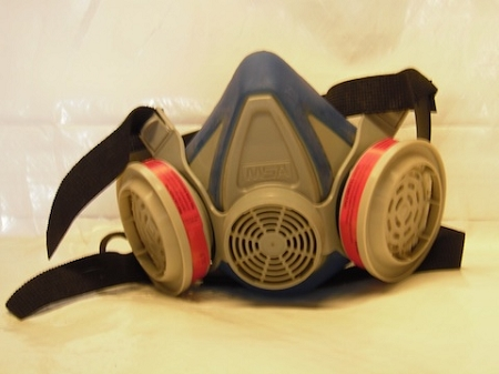 Toxic Dust Crawl Space Respirator