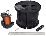 Crawl Space Sump Pump Kit, 15 Gallon