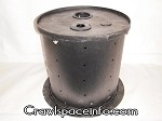 15 Gal Radon Sump Pump Basin W/Anti-Float Plate for Crawl Spaces