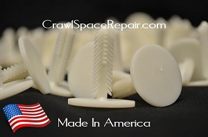 Crawl Space Foundation Pins